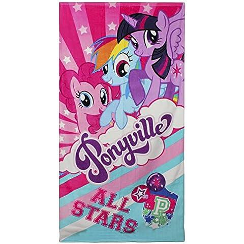 My Little Pony 2200001089-Telo da spiaggia, colore: