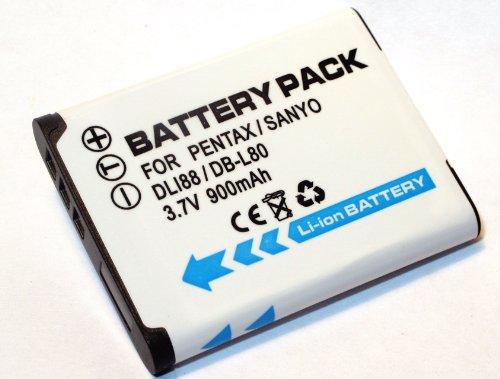 Maxsimafoto® - Sanyo DB-L80, DBL80, DB L80, DB L80AU, DB L80EX, DBL80AU, DBL80EX DB-L80AEX Replacement Lithium Li-on Digital Camera Battery for Sanyo Xacti DMX-CG10, DMXCG10, VPC-CS1, VPCCS1, VPC-CS1EX, VPCCS1EX, VPC-CS1EXP, VPCCS1EXP, VPC-CS1P, VPCCS1P, VPC-CG10, VPCCG10, VPC-CG20, VPCCG20, VPC-CG20BK, VPCCG20BK, VPC-CG20EX, VPCCG20EX, VPC-CG102, VPCCG102, VPC-CG102BK, VPCCG102BK, VPC-GH1, VPCGH1, VPC-GH1EX, VPCGH1EX, VPC-GH2, VPCGH2, VPC-GH2EX, VPCGH2EX