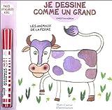 Image de Je dessine comme un grand : Les Animaux de la ferme (pages effaçables à sec + 1 Stabilo)