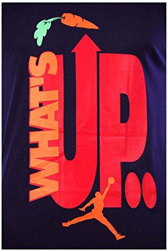 Jordan [666291-010] Air AJ VII WB Hare Tank Tops Apparel Tank Top Air JORDANBLACK Orange White Green Court Purple