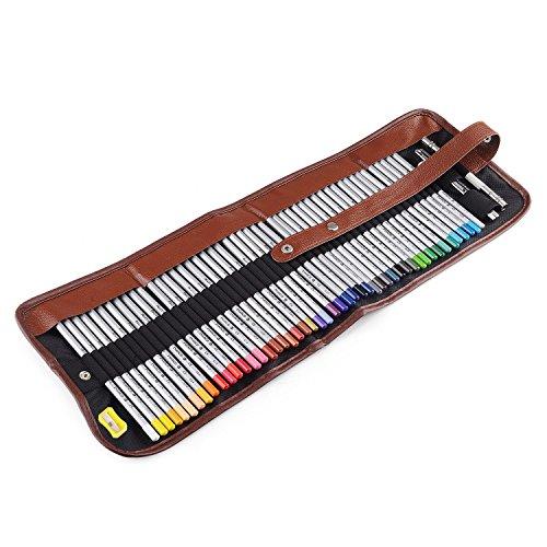 Marco Raffine Fine 48Art bunte Bleistifte + Radiergummi + Bleistift Extender Painting Tools mit...