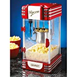 Smart Retro Wasserkocher Popcorn Maker, Schwarz