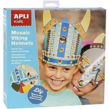 Apli Kids–14362EVA espuma decorativo Viking cascos compatible con todos los (un tamaño, pack de 2)