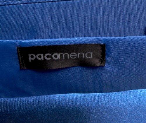 Paco Mena Basic 996300045, Borsa donna Blu (Blu vivo)
