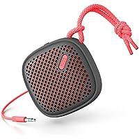 NudeAudio Move S Enceinte Portable Universelle avec Connectique Jack 3.5mm - Charbon/Corail