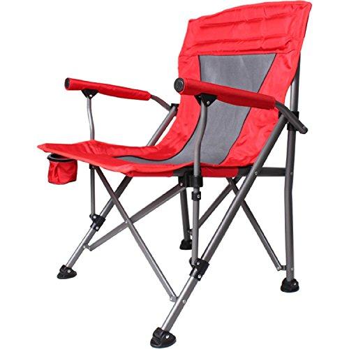 WAYMX Charge-Portant 160Kg Extérieur Chaise Pliante Table de Plage et Chaise Camping Portable Chaise de Pêche Loisirs Balançoire Chaise Tabourets (64 * 65 * 94Cm) , a