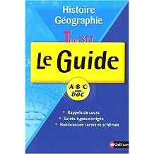 Histoire-Géographie Tle STT