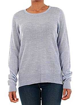 Jersey Vero Moda Mujer Lila 10193164 VMSIKA LS O-NECK BLOUSE NOOS - PALE IRIS
