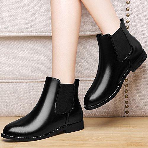 KHSKX-Chelsea Bottes Bottes Et Chaussures De Unique Mesdames Chaussures Correspondent Toutes Les Chaussures Les Marées Thirty-six
