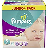 Pampers active Fit,Gr. 5 junior 11-25kg Jumbo Pack Plus (1 x 60 couches)