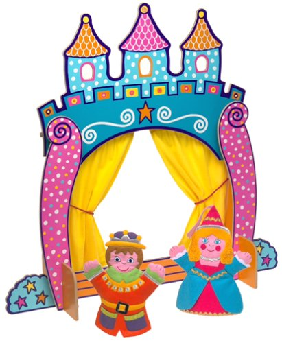 Alex Toys Alex Toys Castle Tabletop Puppet Theatre With Prince And Princess