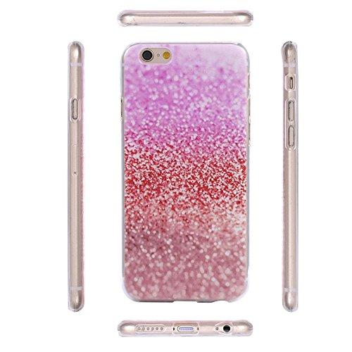 ECENCE APPLE IPHONE 7 COQUE DE PROTECTION SLIM CASE TRANSPARENTE CLEAR MANDALA 32020209 Glitter rose