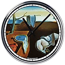 Reloj de Partete de acero Salvador Dali la persistenza della memoria