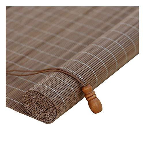 Shading Bambus Bildschirm, Rollos Bambus Shades Outdoor Wasserdicht Schatten Perspektive Vorhang Staubdicht, 3 Farben, Mehrere Größen Erhältlich, MTX Ltd, b, 80X200cm -