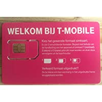 New T-Mobile NL 3in 14g Prepaid SIM Netherlands Holland Netherlands Card