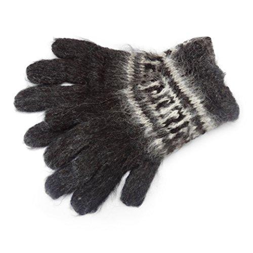 Alpaka Erwachsene Handschuhe, aus natürlichen Farben erhältlich, Fair trade,...