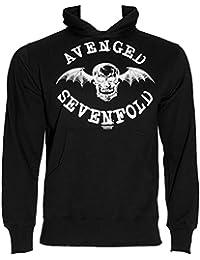 Avenged Sevenfold Logo Sweat à Capuche (Noir)