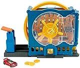 Hot Wheels- Rapina alla Banca, Playset per Macchinine con Veicolo Incluso, Giocattolo per Bambini 4+ Anni, GBF96