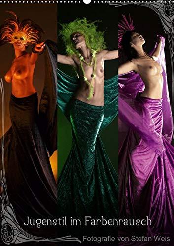 Jugendstil im Farbenrausch (Wandkalender 2020 DIN A2 hoch): Aktfotografie im freien Sinne des Jugendstils (Monatskalender, 14 Seiten ) (CALVENDO Kunst) - Nackt Bronze