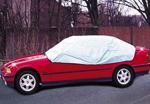 Wenko 5727010500 - Demi-housse pour voiture - Plastique - Gris - 275 x 80 x 180 cm (Import Grande Bretagne)