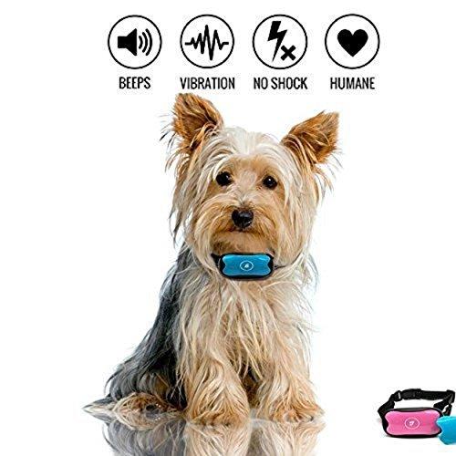 Anti bark Halsband Stop Hund Bellen Halsband No Shock Rinde Kontrolle Halsband für kleine mittlere und große Hunde humane und sichere Rinde Abschreckung Jafaa Anti bark Kragen No Bark Halsband