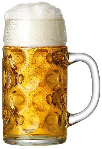 Liter 1 Bierkrug (Ritzenhoff & Breker Maßkrug 1 L mit Eichung)