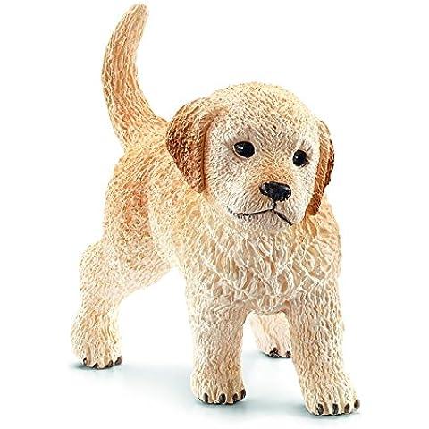 Schleich - Cachorro de perro cobrador dorado, figura (16396)