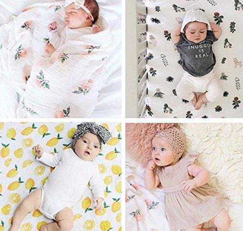 gzq Baby Decken Wickeltuch Badetuch weichen Schlafsack Buggy Sack für Neugeborene Baby Kinder Kleinkind