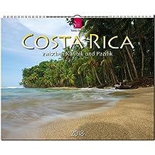 COSTA RICA zwischen Karibik und Pazifik: Original Stürtz-Kalender 2018 - Großformat-Kalender 60 x 48 cm