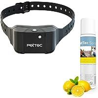 PetTec Trainingshilfe für Hunde | Automatisches Anti-Bell-Training | Sicher & Schmerzfrei | Stoppt Hundebellen