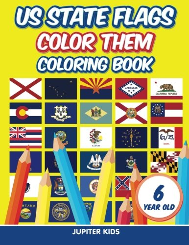 us-state-flags-color-them-coloring-book-6-year-old