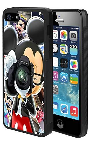 Disney Collection Coque de Protection Antichoc pour iPhone 5, iPhone 5S, iPhone Se Eeyore 4