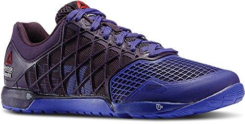 Reebok Nano 4.0Crossfit de la Mujer Purple Mesh Running Zapatillas de Entrenamiento, Color Morado, Talla...