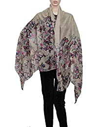 Scatter Glitter Butterfly Large Scarf Ladies Scarves Womens Designer Scarf Sarong Christmas Scarf- SWANKYSWANS