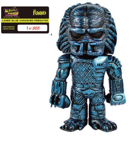 Predator Hikari Sofubibio - Figura de acción de vinilo con láser, 19 cm, color azul 1