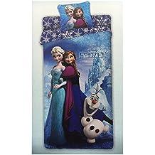 Frozen 61006731060Juego de cama algodón, azul, 30x 40cm x 3cm
