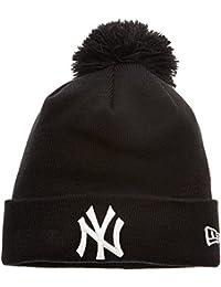 New Era Cap - Bonnet New York Yankees - Noir - Taille unique (Taille Fabricant : OSFA)