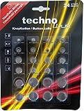 Technoline Knopfzellen Haushaltsblister Mini Batterien Knopfzellen-Batterien (24erPack)