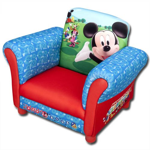 Kindersessel - Sessel - mit Motivauswahl (Mickey Mouse) - verschiedene Motive wählbar