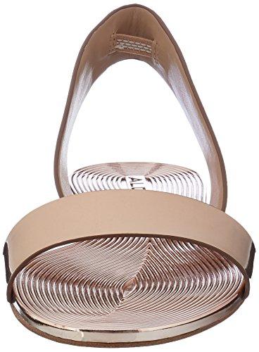 Aldo Damen Yoana Offene Sandalen mit Keilabsatz Mehrfarbig (86 Metallic Miscellaneous)