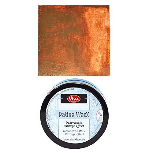 NEU Viva Decor Patina WaxX, Braun, 50 ml