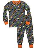 Harry Bear Jungen Lastwagen Schlafanzug Slim Fit Mehrfarbig 128