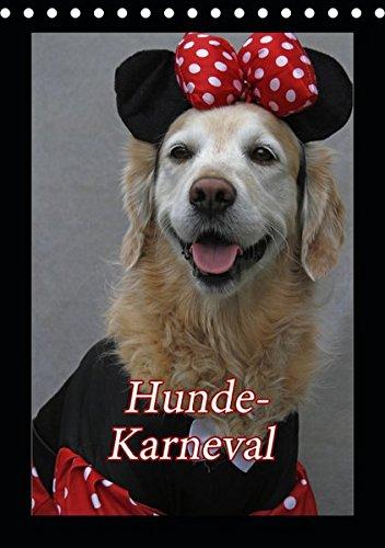 Hunde-Karneval (Tischkalender 2019 DIN A5 hoch): Zwei Hunde feiern Karneval (Monatskalender, 14 Seiten ) (CALVENDO - Comic Hunde Kostüm