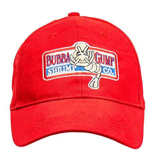 LACKINGONE Einstellbare Bubba Gump Baseball Cap Shrimp CO. Bestickte Snapback-Mützen
