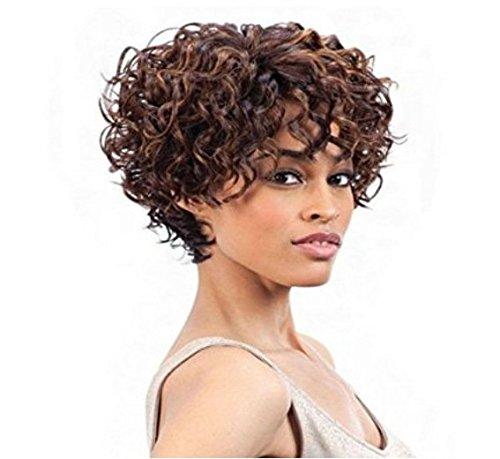 Perruques, perruque populaire européen et américain noirs bouclés Afro perruque perruque des soins Kit de porter des accessoires support , wig