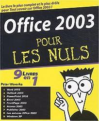 Office 2003, 9 en 1