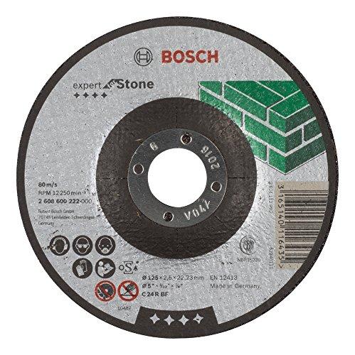 Bosch 2608600222 Disque à Tronçonner à moyeu déporté expert for stone C 24 R BF 125 mm 2,5 mm