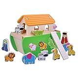 Childrens Holz-Spielzeug-Arche Noah Form Sorter