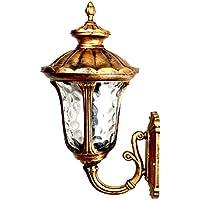 VanMe Luci Da Giardino, Esterno Muro Lamp-Style