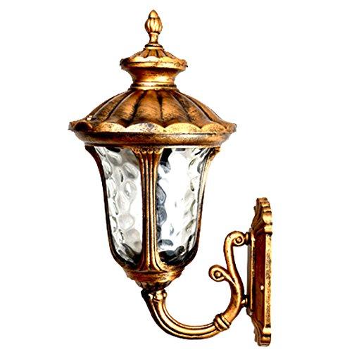 VanMe Luci Da Giardino, Esterno Muro Lamp-Style Cottage Luci Da Giardino Balcone Impermeabile Luci Del Corridoio